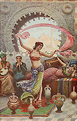 history bellydance